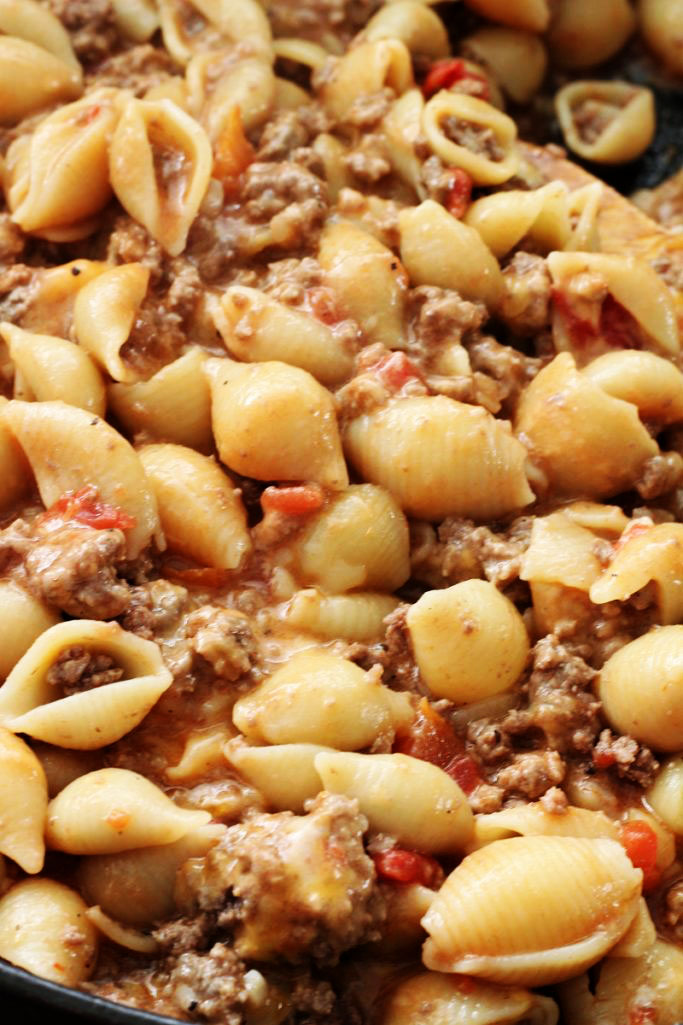 Easy Cheeseburger Pasta