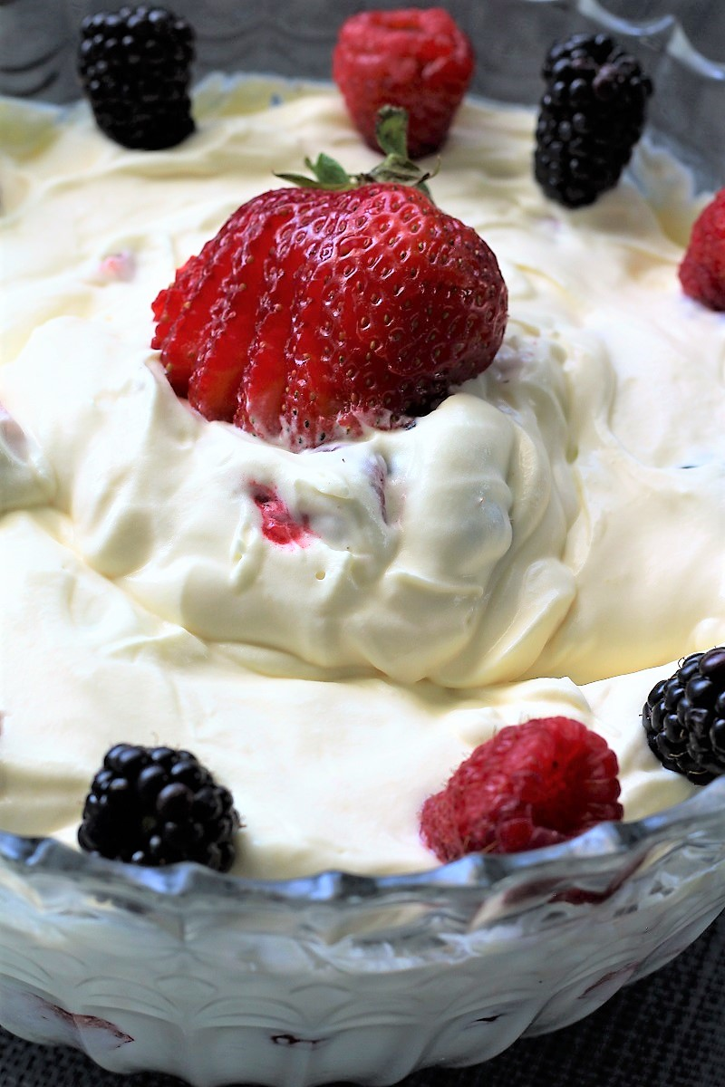 Real Cream Berry Salad
