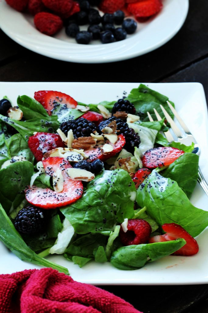 Nuts About Berries Zupas Copycat Salad