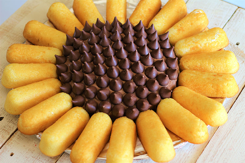 Prime Sunflower Twinkie Cake My Recipe Treasures Birthday Cards Printable Benkemecafe Filternl