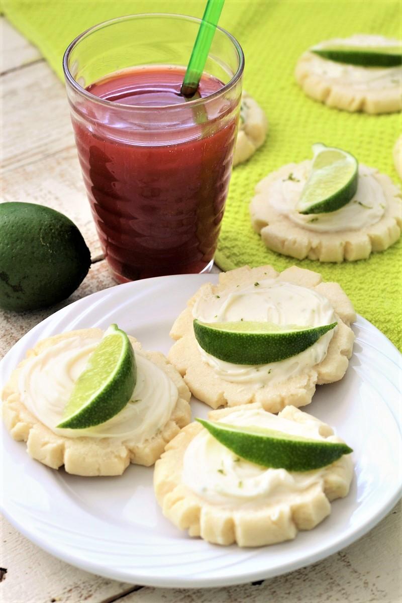Coconut Lime Swig Cookies