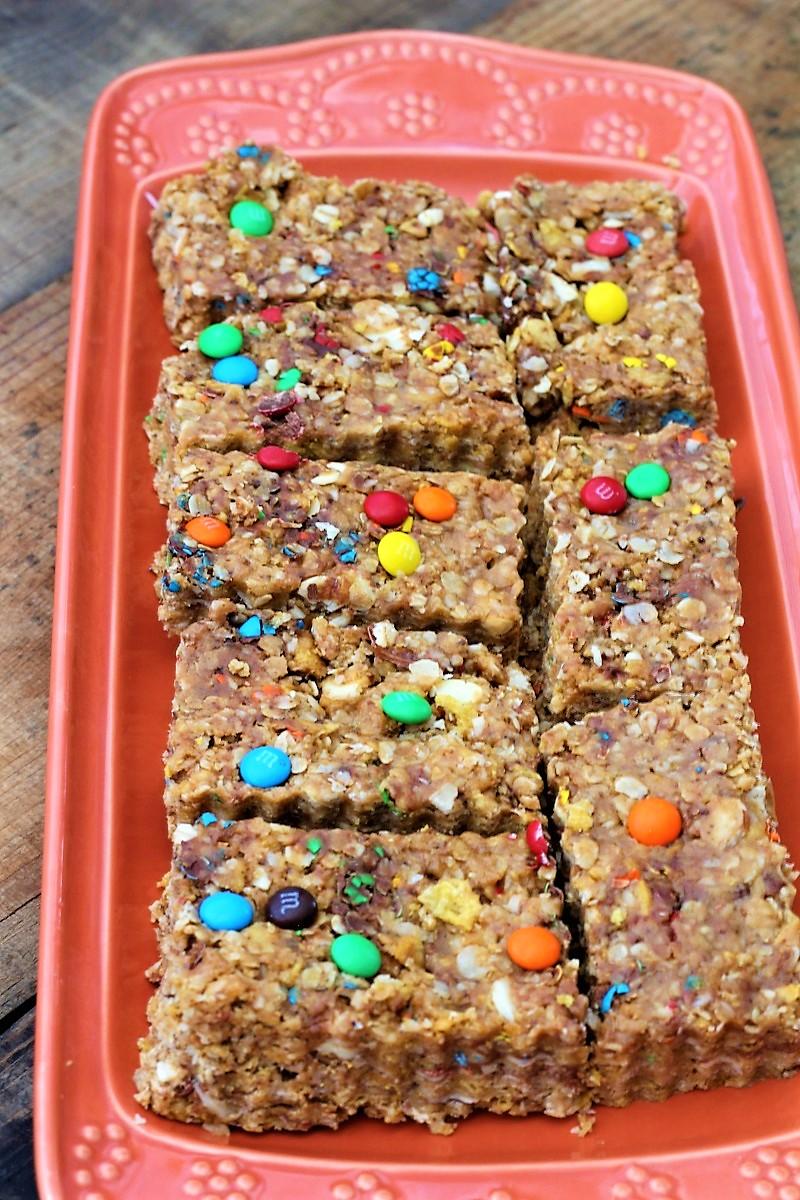 Easy Microwave Granola Bars