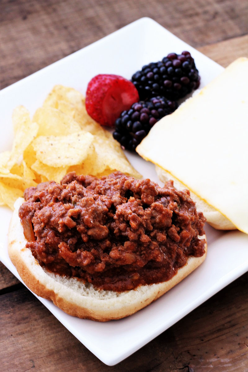 Barbecued Sloppy Joes