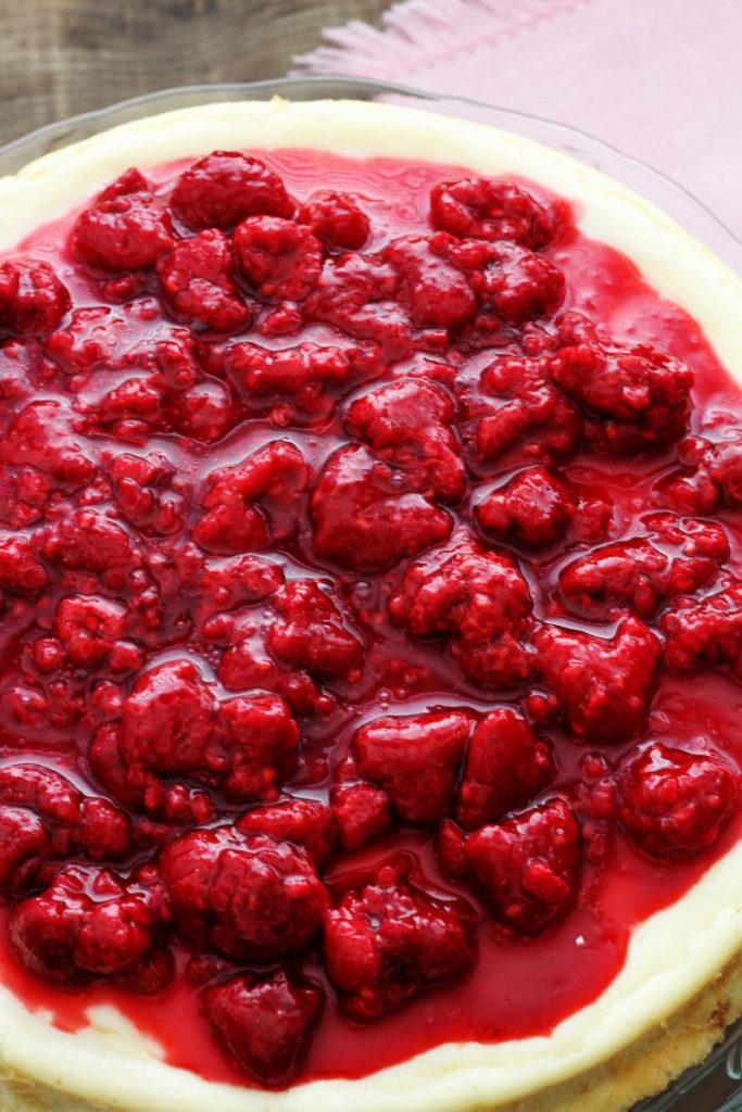 Creamy Baked Cheesecake