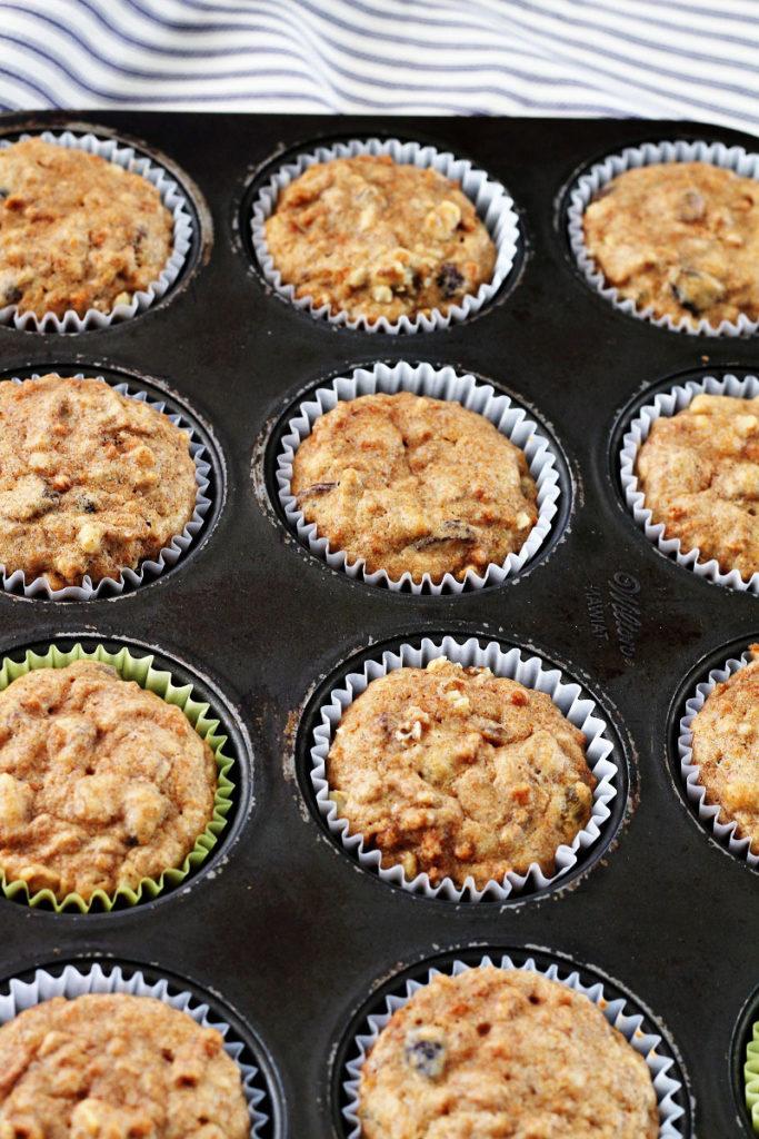 Healthy Fiber Muffins