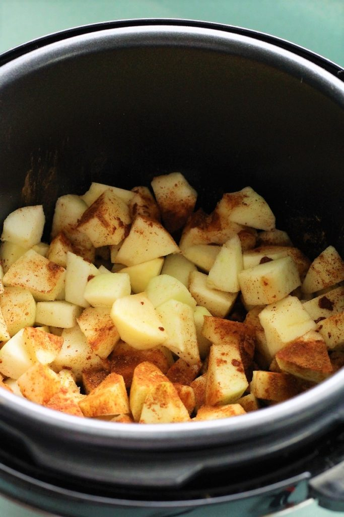 Insta Pot Apple Crisp