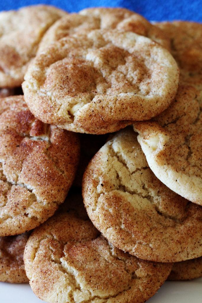 Snickerdoodle Pumpkin Spice Cookies