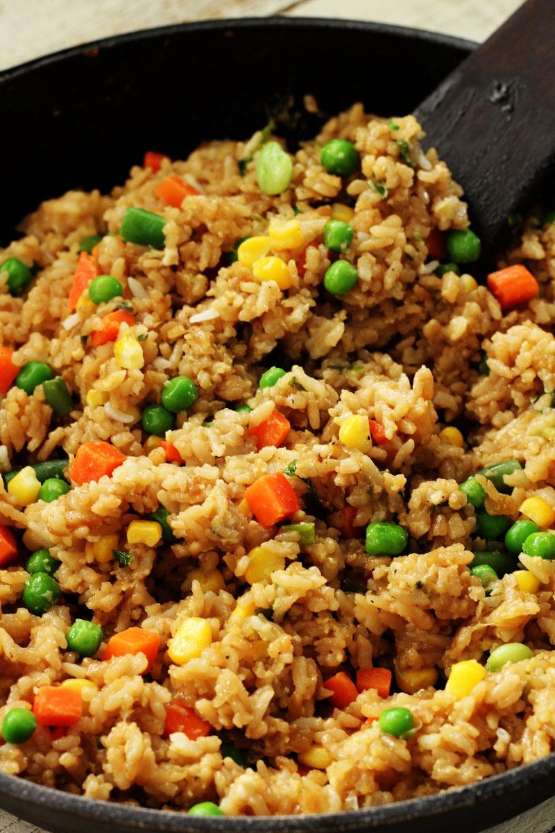 Chicken Rice and Veggies