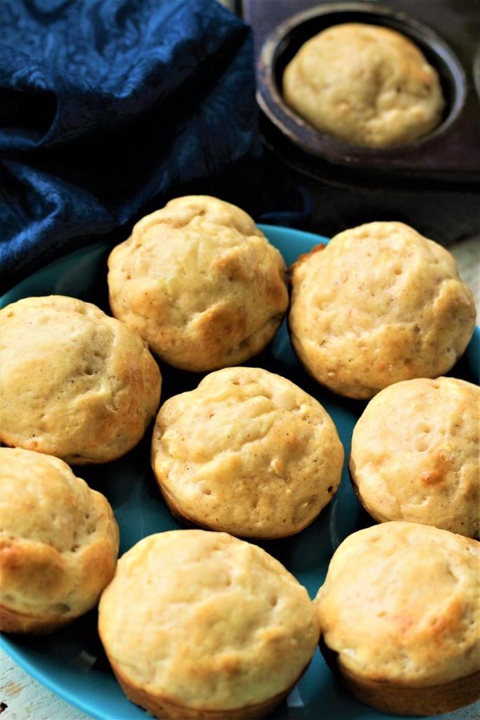 Moist Pineapple Muffins