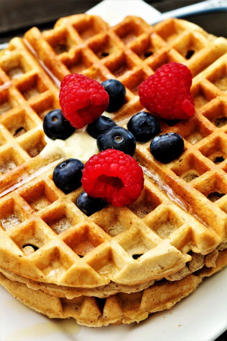 Keto Gluten Free Waffles