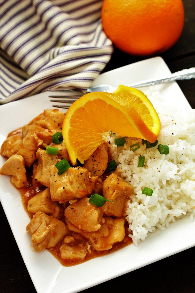 Instant Pot Orange Chicken