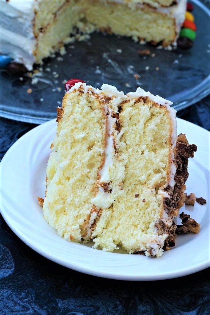 Blue Ribbon Yellow Cake