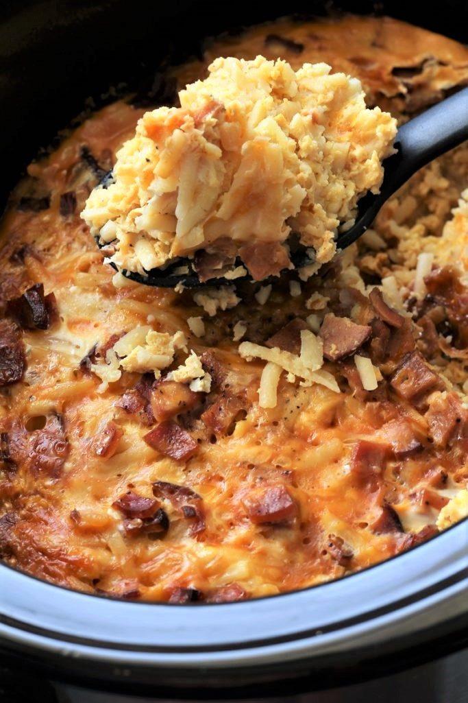 Mountain Man Crock Pot Breakfast
