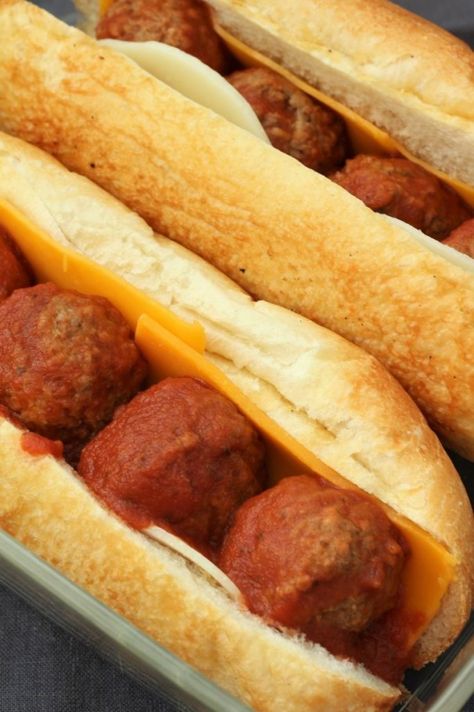 Meatball Submarine Sandwiches