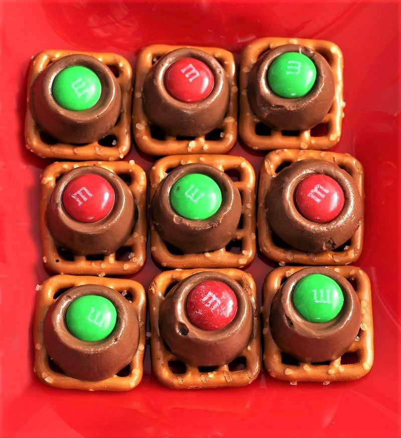 Rolo Pretzel Treats
