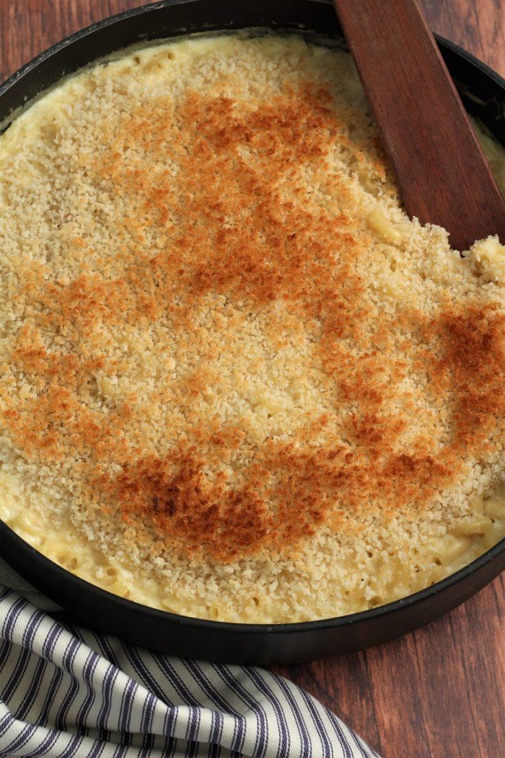 Garlic Parmesan Mac and Cheese