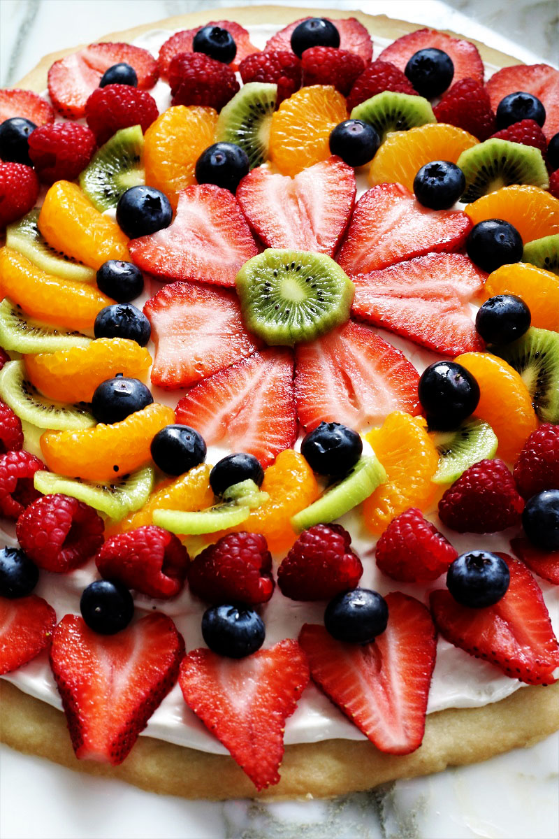 Best Fruit Pizza Ever