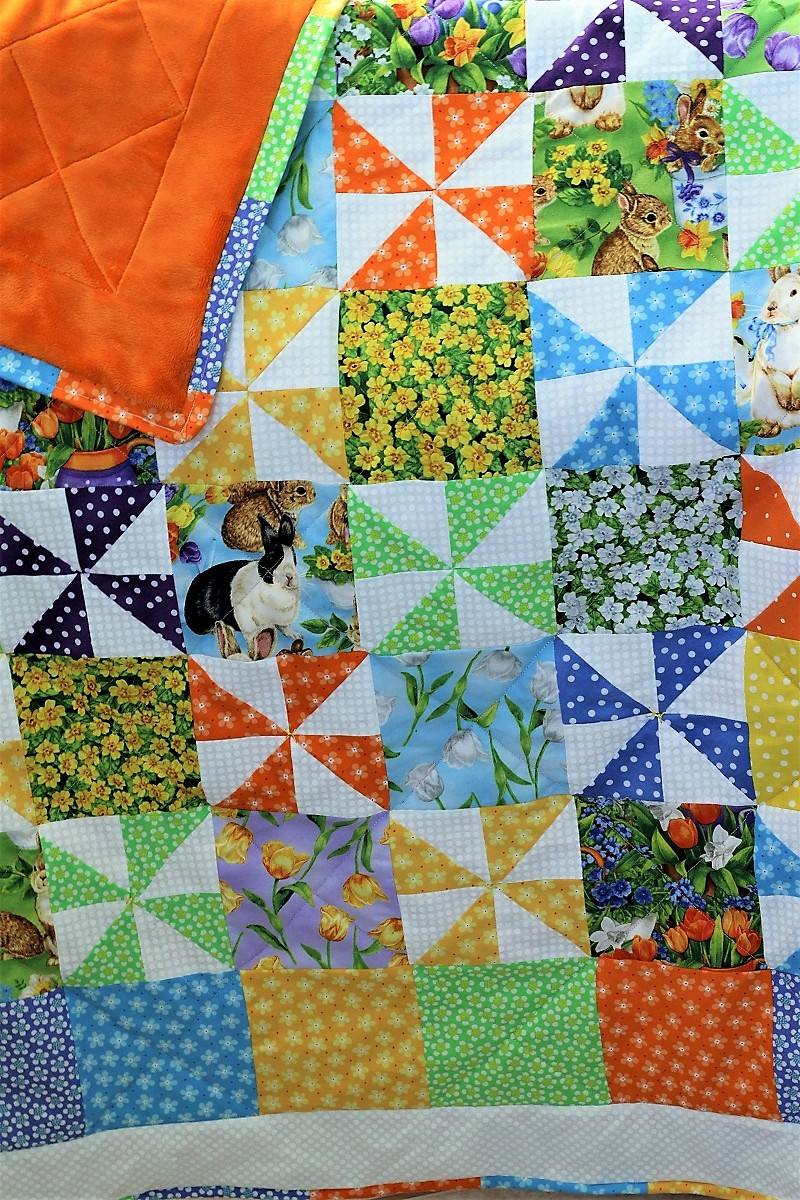 New Baby Spring Quilt