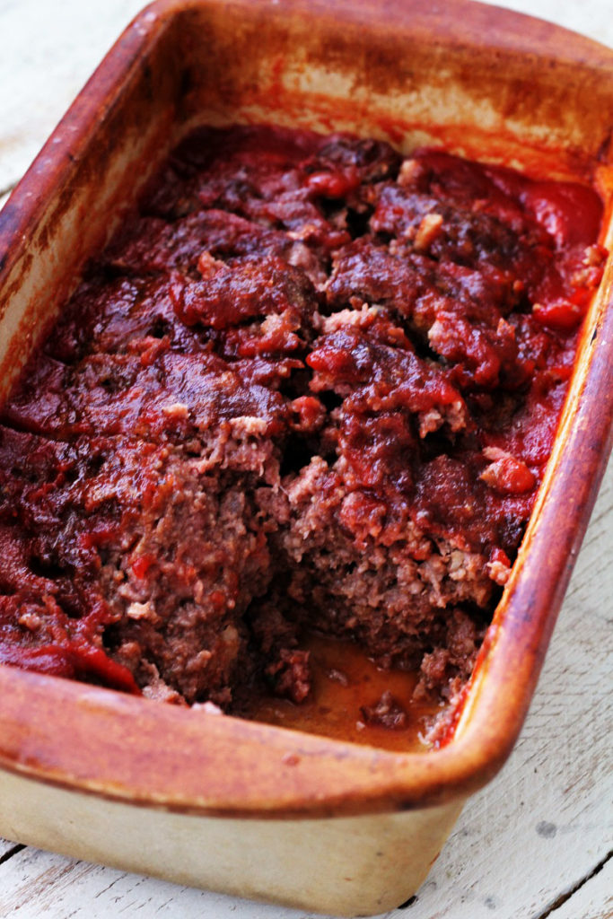 Sweet and Sour Meat Loaf