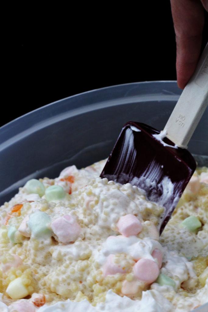 Acini De Pepe Salad AKA Frog Eye Salad