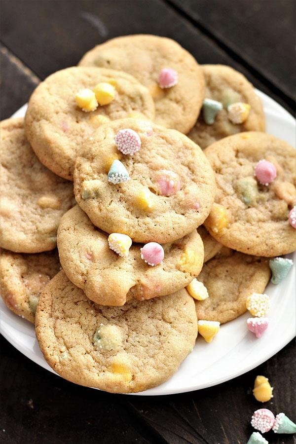 Petite Melt Away Mint Cookies