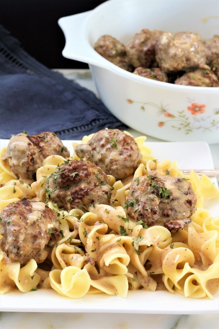 Swedish Meatballs Instant Pot