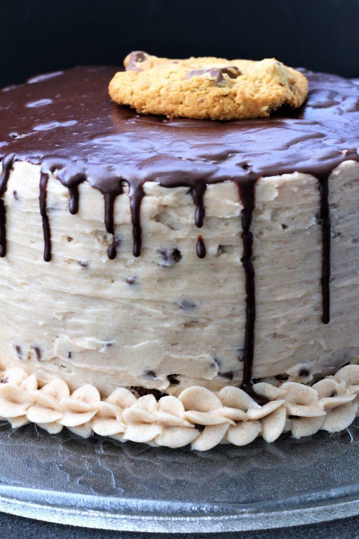 Oatmeal Chocolate Chip Cookie Cake