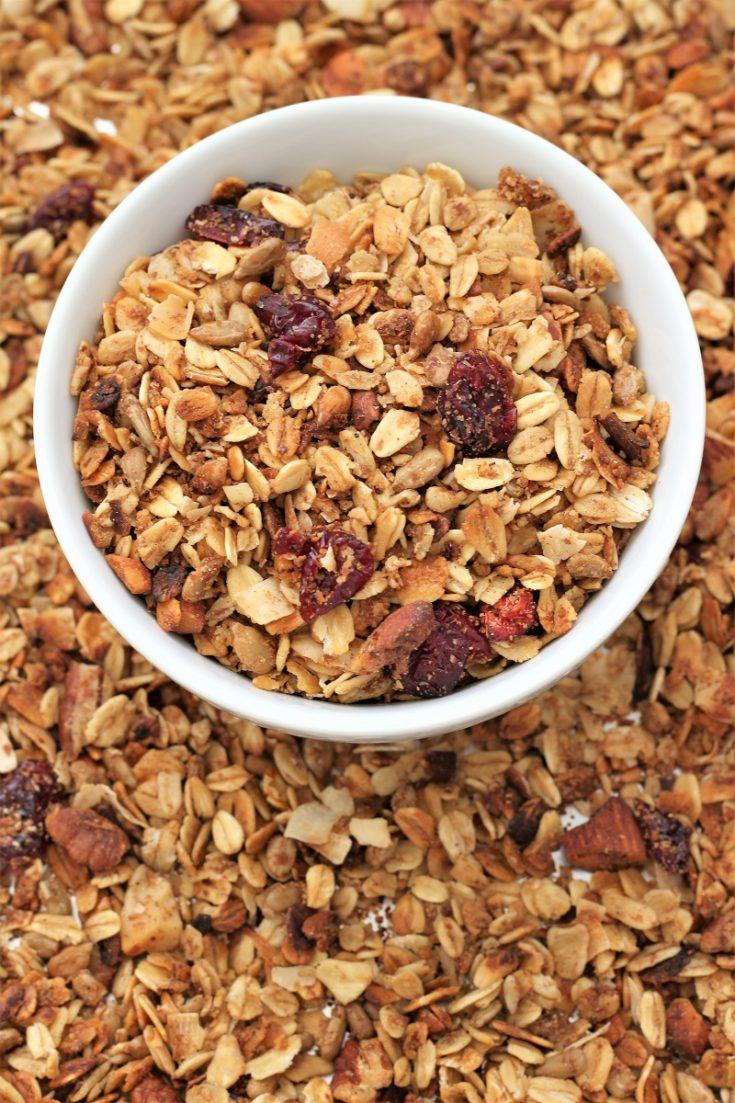 Crock Pot Honey Nut Granola