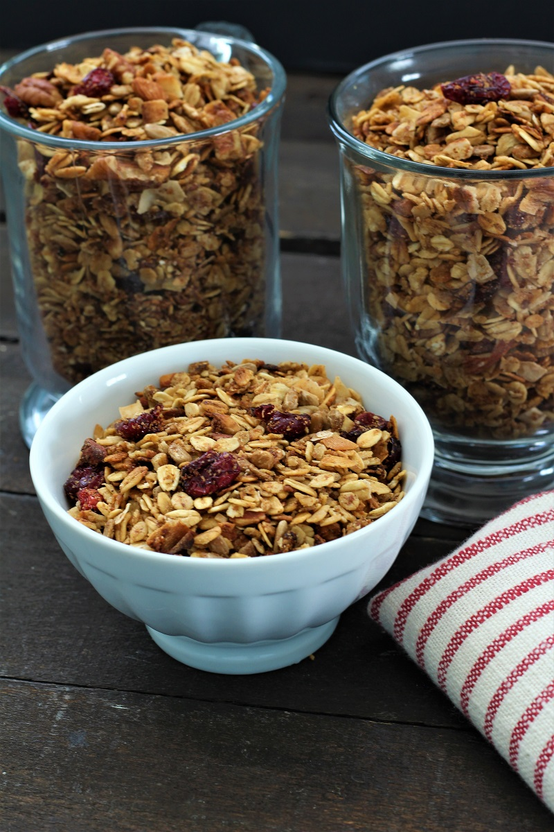 Crock Pot Honey Nut Granola
