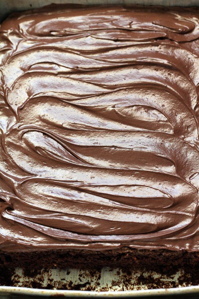 Moist Chocolate Zucchini Brownies
