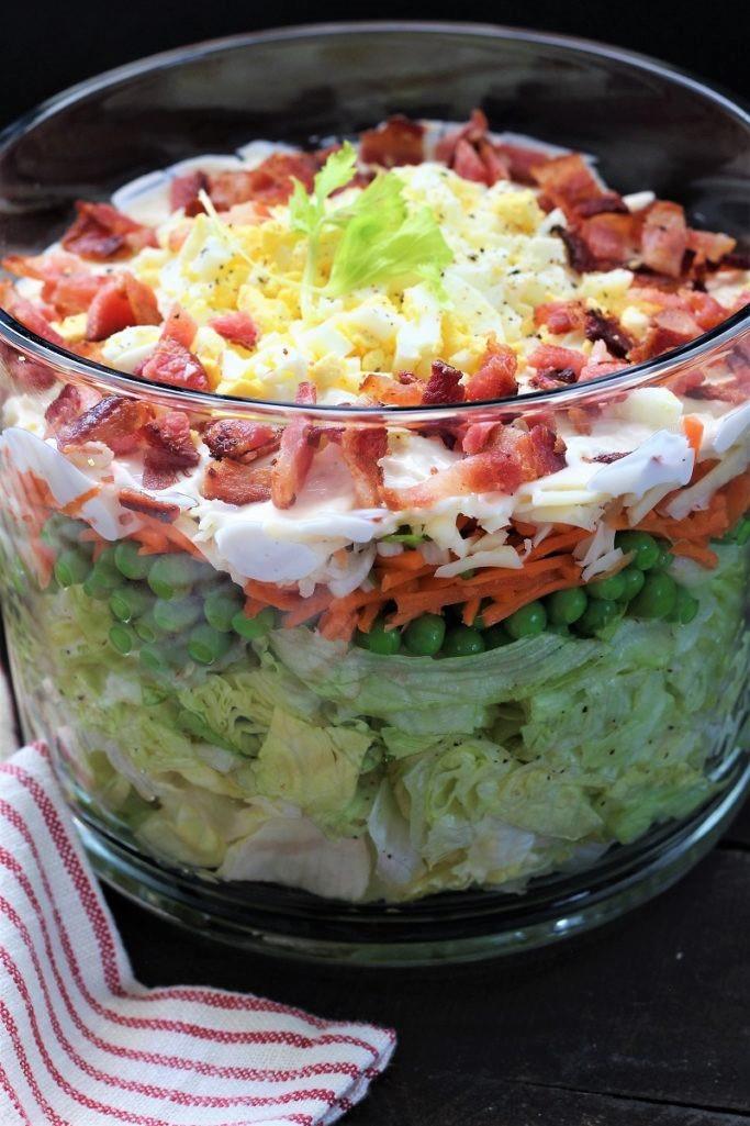Lion House Layered Salad