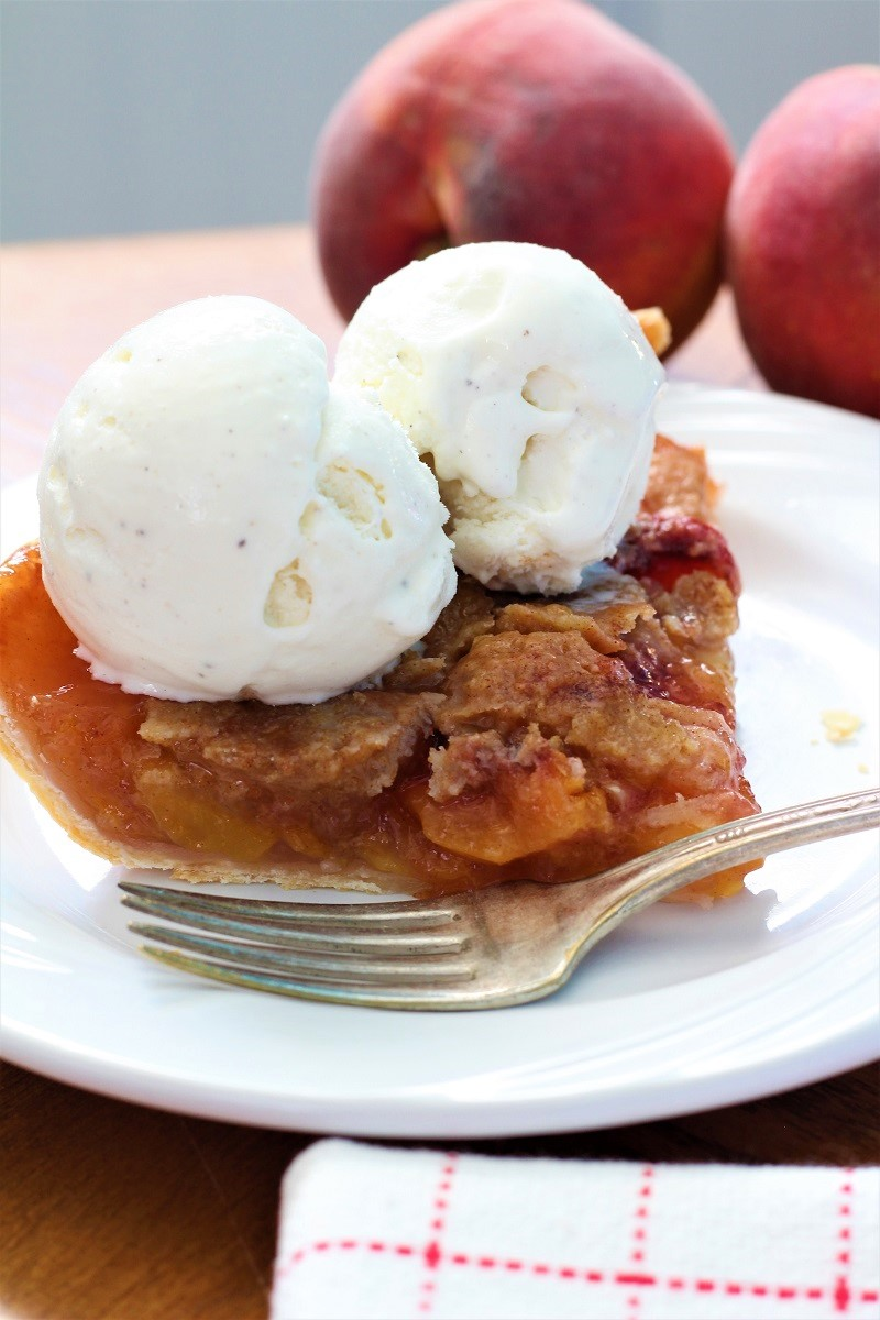 Fresh Peach Pie