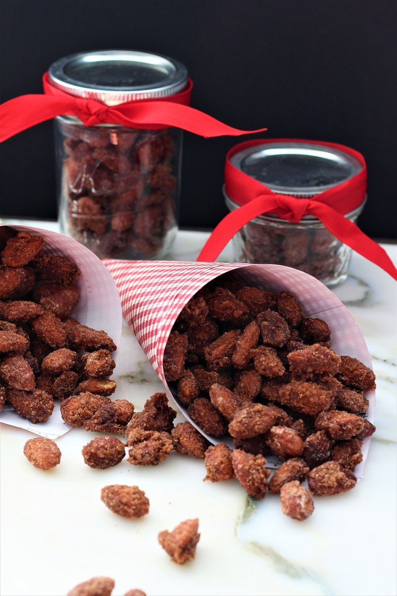 Cinnamon Roasted Crock Pot Almonds