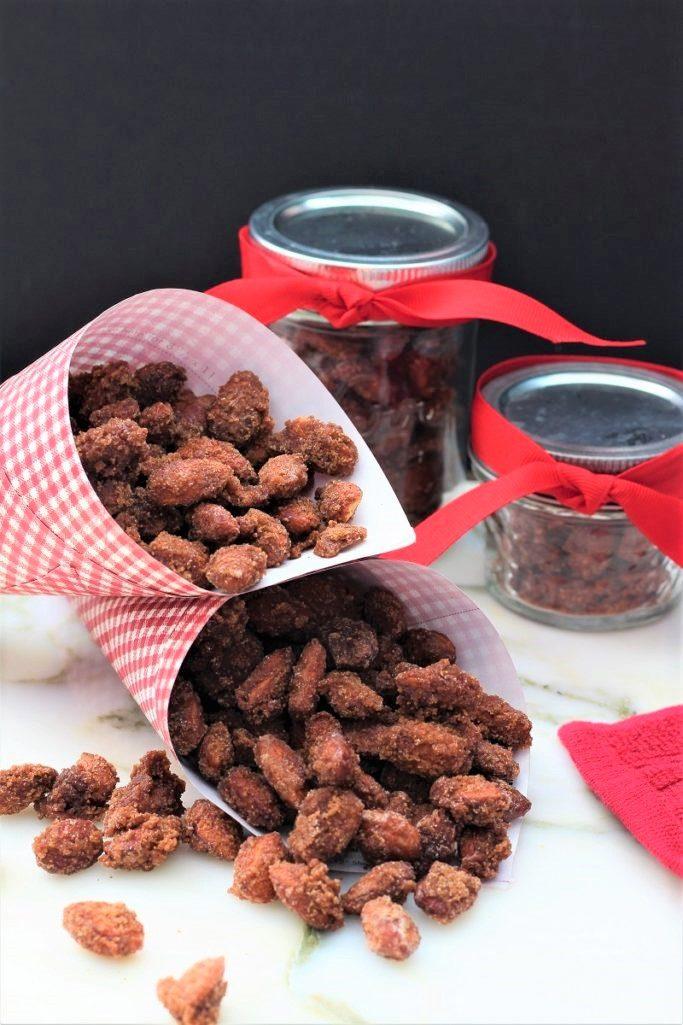 Cinnamon Roasted Crock Pot Almonds