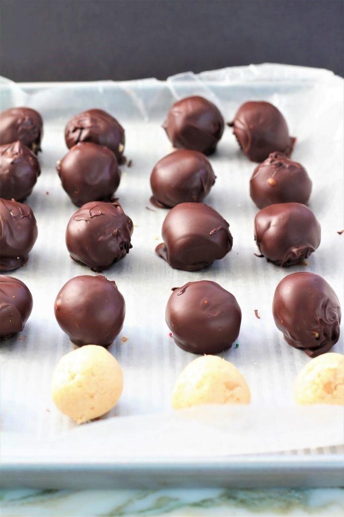 Reeses Copycat Peanut Butter Balls