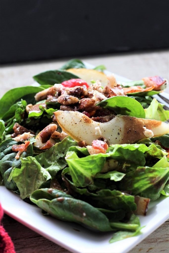 Bacon Berry Winter Salad
