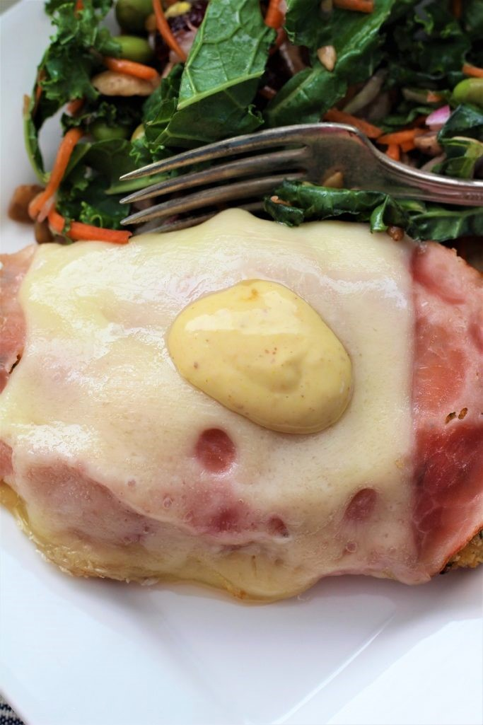 Ham and Swiss Malibu Chicken