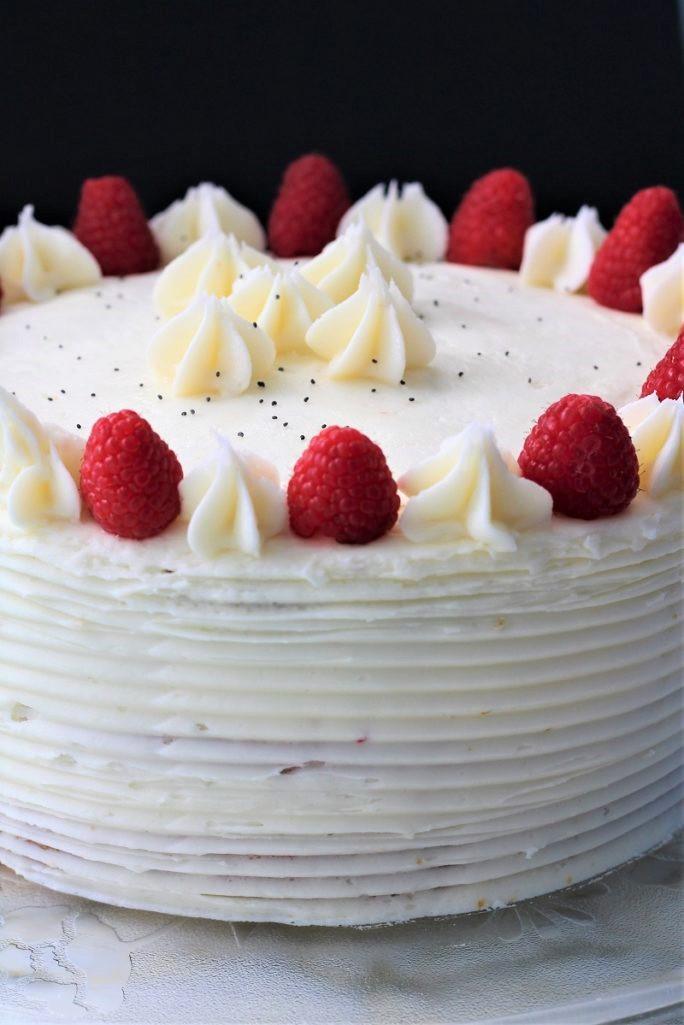 Raspberry Poppy Seed Cake
