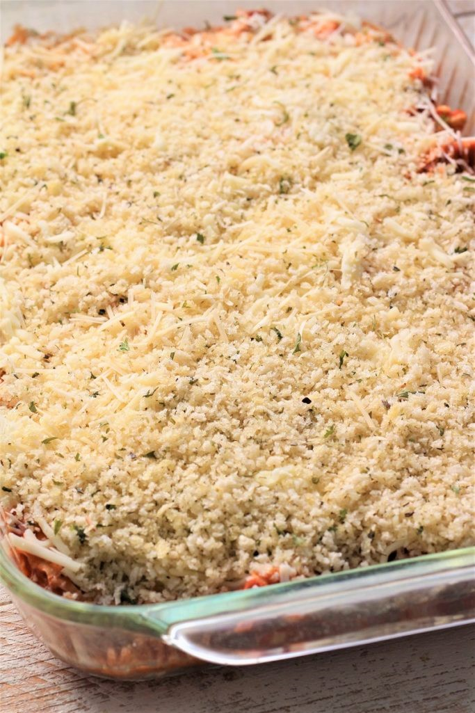 Chicken Parmesan Freezer Meal