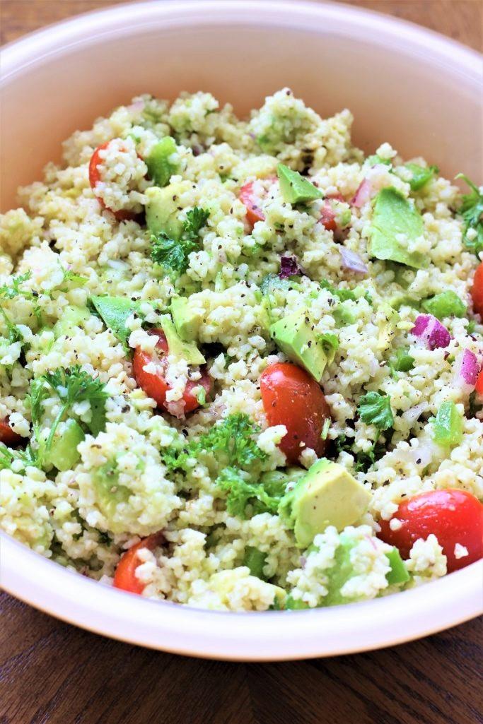 Easy Avocado Quinoa Salad