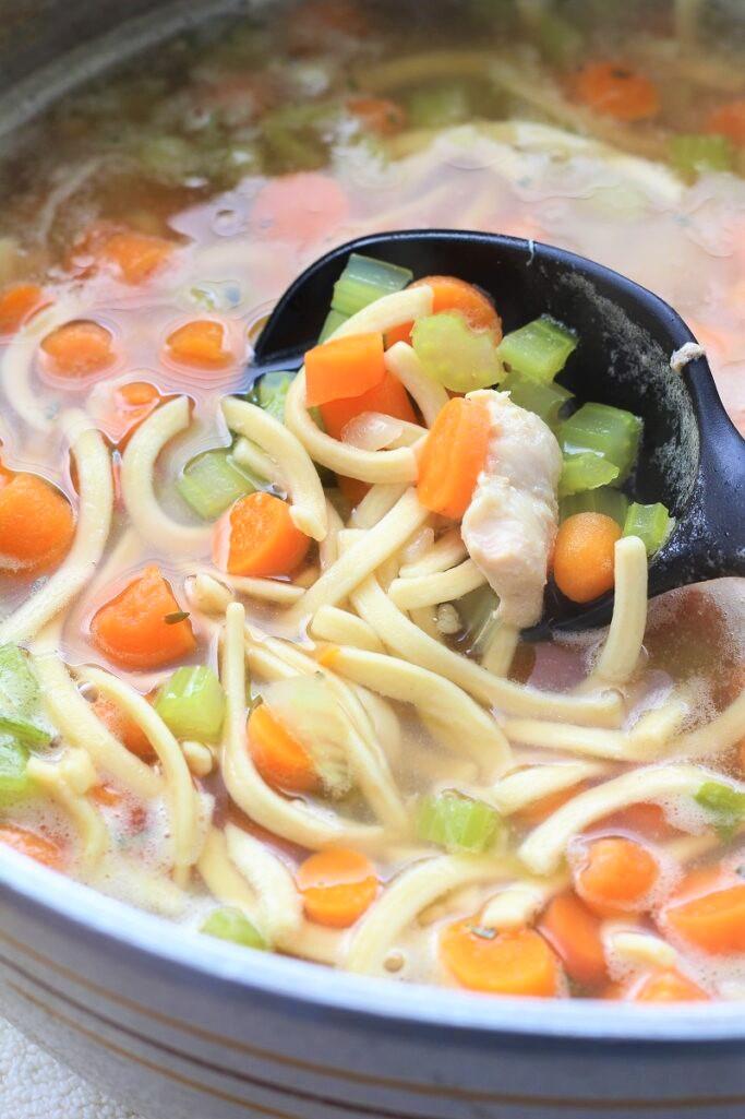 Surprise Chicken Noodle Soup