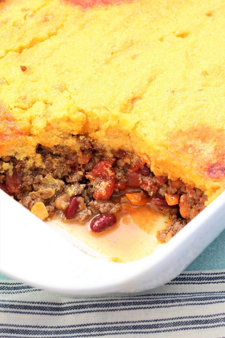 One Pan Chili Cornbread Meal