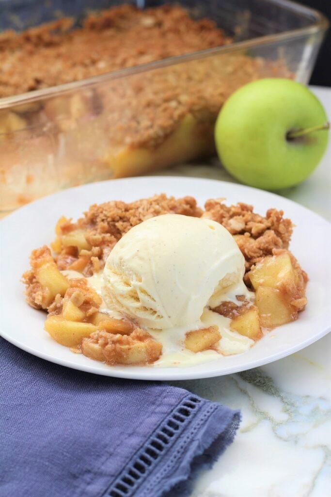 Best Easy Apple Crisp