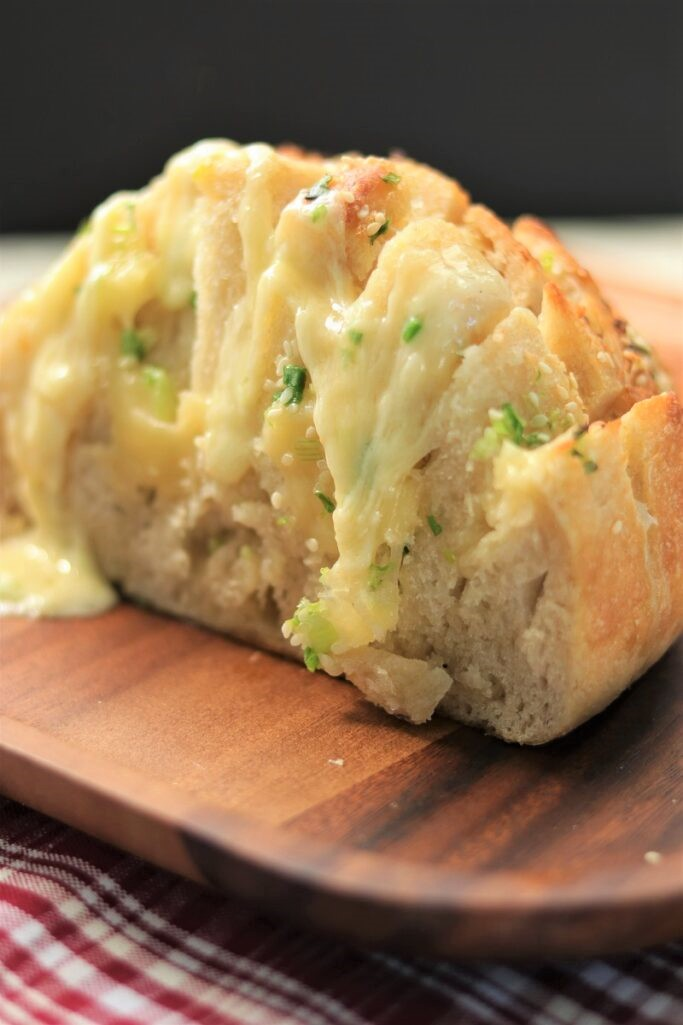 Cheesy Pull Apart Bread Appetizer