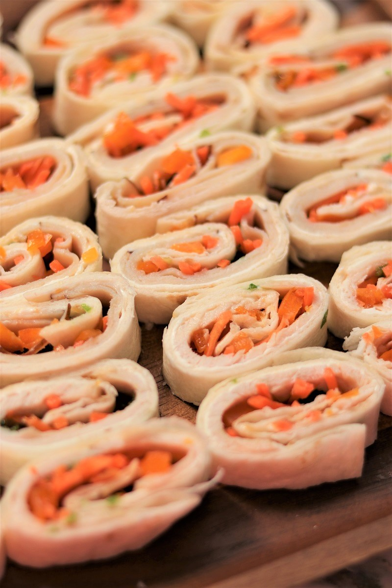 Turkey and Apricot Tortilla Wraps
