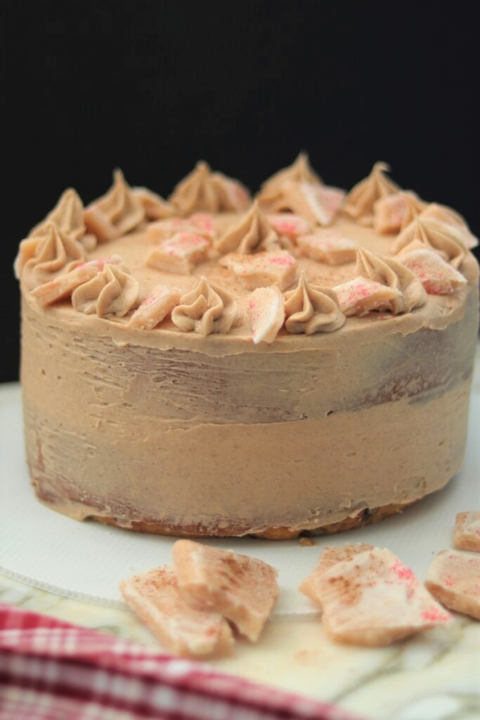 Snickerdoodle Cake with Churro Toffee
