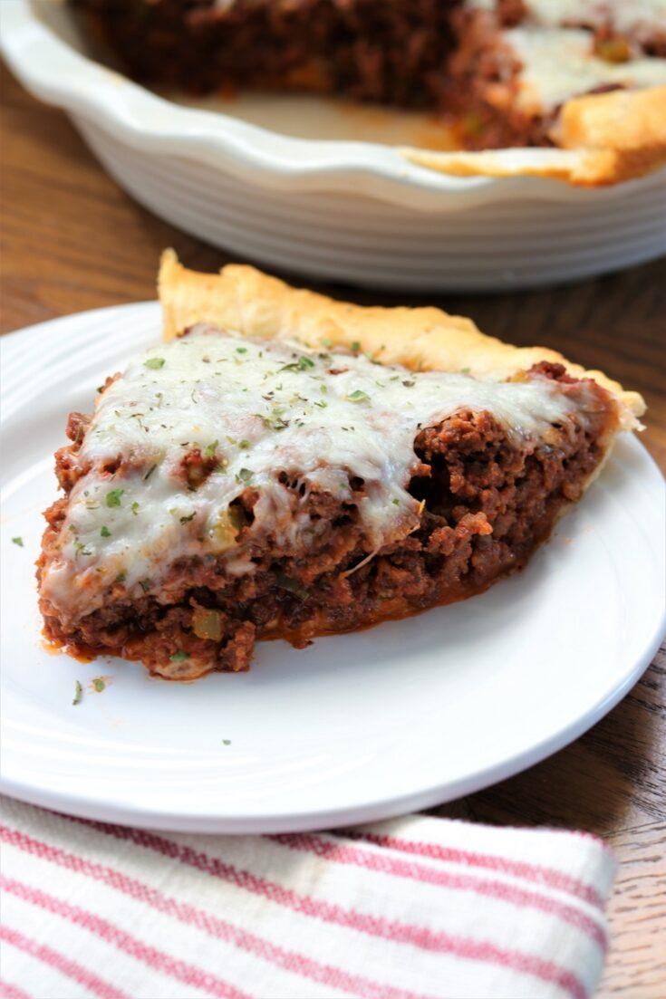 Crescent Mozzarella Meat Pie