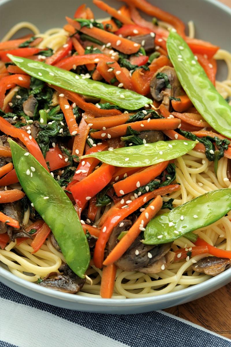 Easy Vegetable Lo Mein