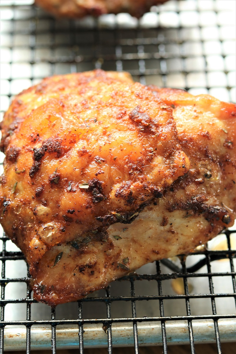 Delicious Baked Chicken Thighs