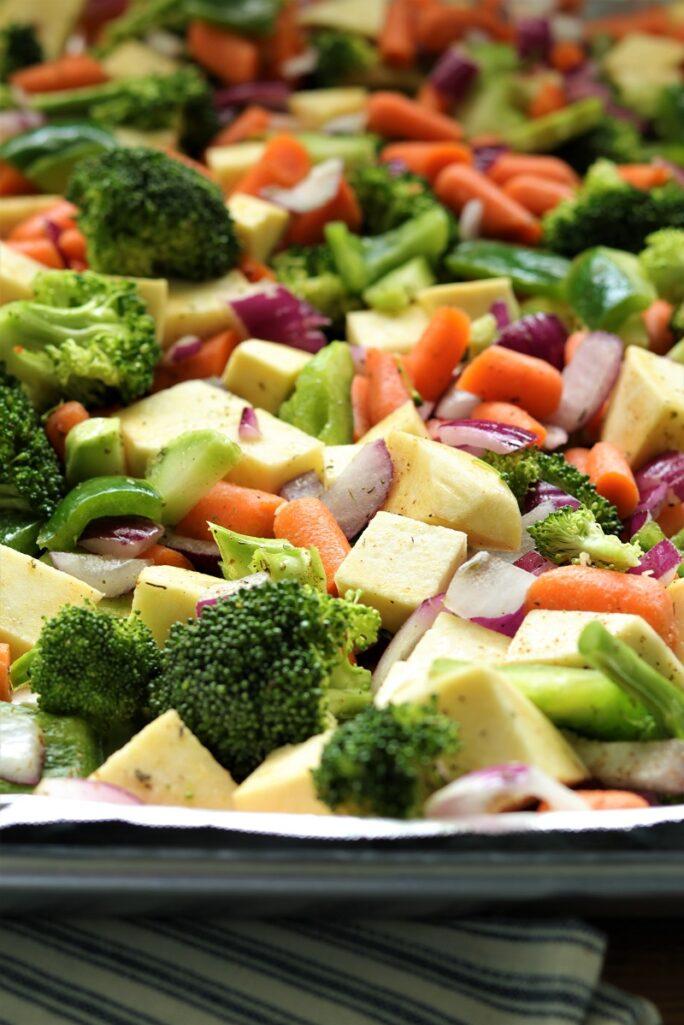 Sheet Pan Shrimp and Vegetables